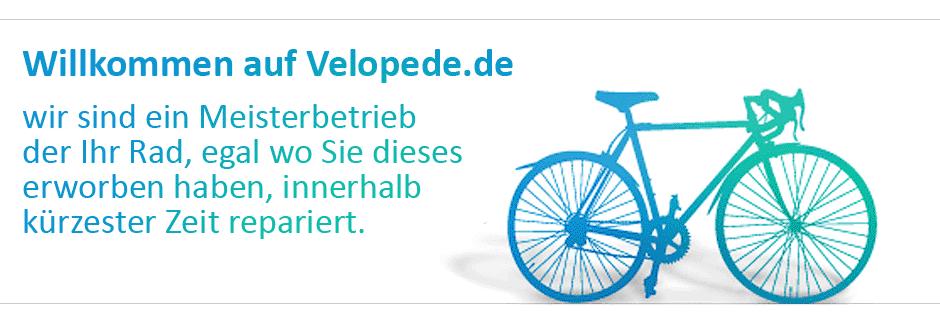 Velopede De Wir Reparieren Ihr Fahrrad Egal Wo Sie Es Erworben